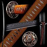 siwode Katana,Hollow Dragon Copper Tang, T10