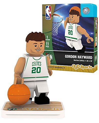 NBA Boston Celtics Gordon Hayward Association Home Uniform Minifigure, Small, No color