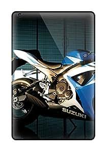 Unique Design Ipad Mini 2 Durable Tpu Case Cover Suzuki Gsx R750 Bike