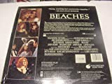 Laserdisc Beaches with Bette Midler & Barbara Hersey, Margaret Jennings South from the Novel by Iris Rainer Dart, Directed by Garry Marshall