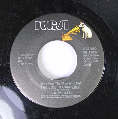 Jerry Reed 45 RPM The Like In Gasoline / A Piece Of Cake