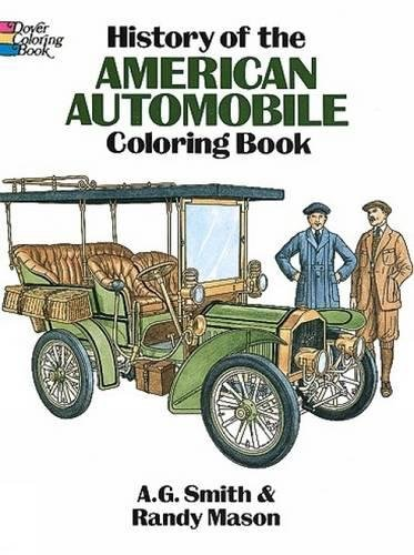 History American Automobile Coloring Dover product image