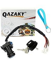QAZAKY Ignition Key Switch Compatible with Polaris 4110194 Big Boss Magnum Scrambler Sport Sportsman Trail Boss Xplorer Xpress 250 300 335 400 400L 425 50 500 ATV 1996 1997 1998 1999 2000