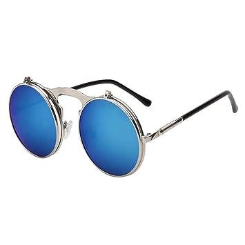 ZHOUYF Gafas de Sol Gafas De Sol Gafas Redondas para ...