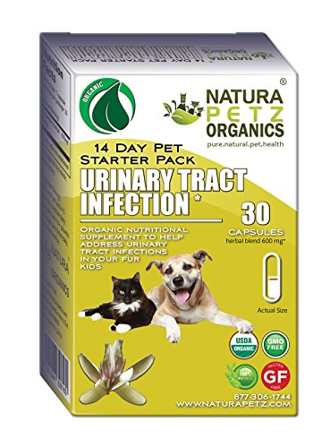 Natura Petz Organics Urinary Tract Infection Starter Pack for Dogs and Cats