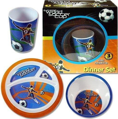 Extreme World Soccer Cup 3 pc Dinner Set by UPD
