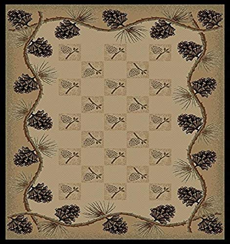Rug Empire Pine Bluff Area Rug, 7 10 x9 10 , Beige