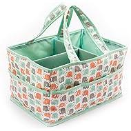 Baby Diaper Caddy Organizer by Sweetzer and Orange -...