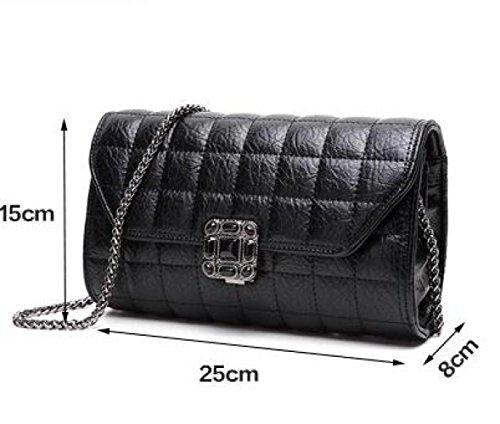 Otoo Moda Clsico Black E Invierno Mano Cadena De Bolsos Coreano De La Bandolera Bolso frcfBq