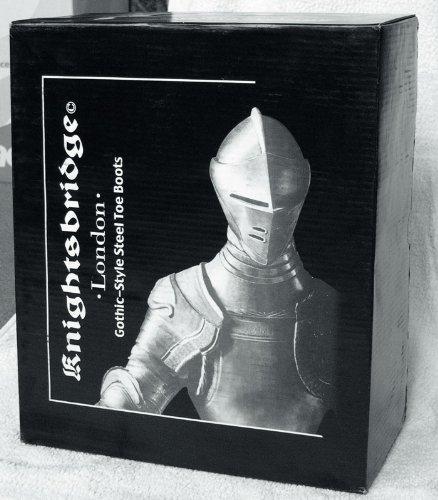 30 Buchi Rangers Stivali Knightsbridge stivali nero con Cappa in acciaio - Taglia 13
