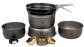 Trangia Set de hornillo 25-3 con sartén antiadherente 2018 Hornillos de camping
