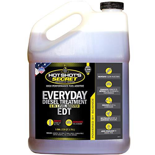 Price comparison product image Hot Shot's Secret HSSEDT01G Everyday Diesel Treatment (EDT) 1 Gallon,  128. Fluid_Ounces