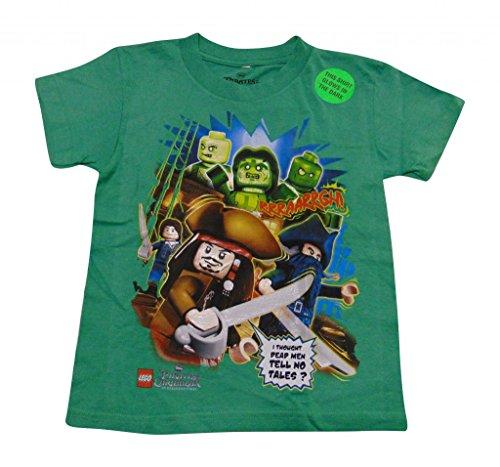 Pirates Lego Green Shirt