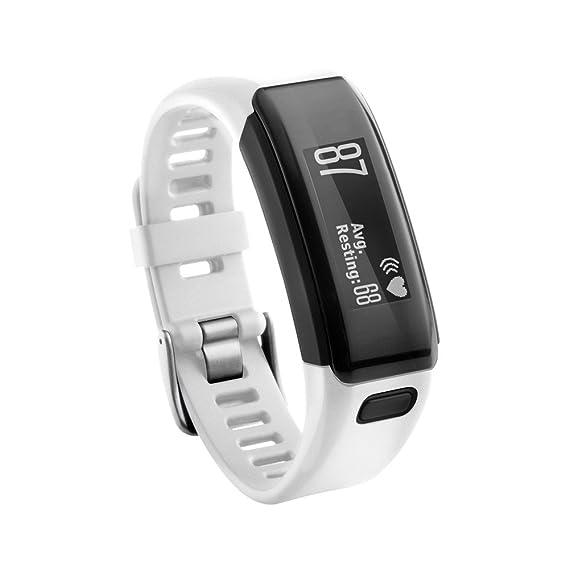 Garmin Vivosmart HR Banda,Replacement Soft Silicone Bracelet Strap ...