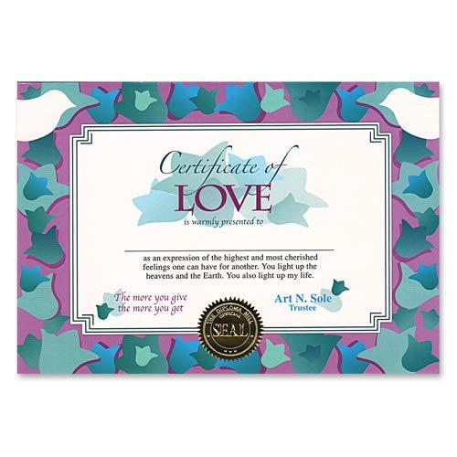 Beistle CG057 Certificate Of Love, 5