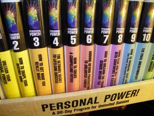 Anthony Robbins Personal Power: A 30 Day Program (24 Audio Cassettes) (Anthony Robbins Personal Power compare prices)