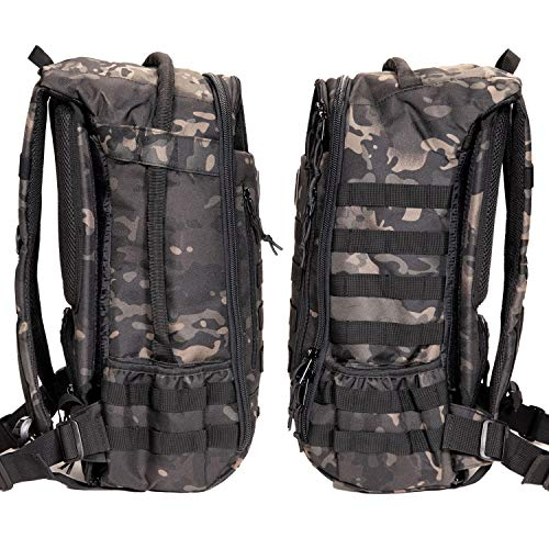 Tactical Baby Gear Daypack 3.0 Tactical Diaper Bag Backpack and Changing Mat (Black Camo) by Tactical Baby Gear (Image #8)