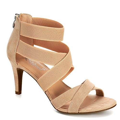 XAPPEAL Womens Elke High Heel Sandal Shoes (10 M US,, used for sale  Delivered anywhere in USA