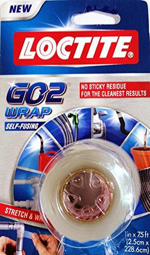 Loctite GO2 Self-Fusing Silicone Clear Wrap, 1