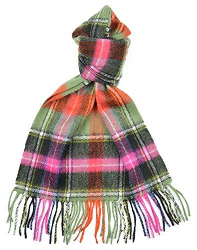 Lambswool Scottish Clan Scarf Bruce Of Kinnaird Ancient Tartan (Bruce Clan Tartan)