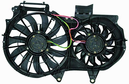 Engine Cooling Fan Assembly - Cooling Direct For/Fit AU3115107 02-05 Audi A4/S4 1.8L 05-08 GEN 3 / RS4 2.0L 03-06 Cabriolet 1.8L 07-09 Cabriolet (Audi A4 Cooling)