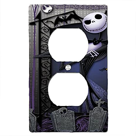 Nightmare Before Christmas Light Switch Cover Matching Jack  - Nightmare Before Christmas Light