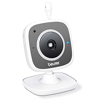 Beurer BY 88 Smart Wi Fi Babycare Kamera, weißgrau