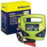 Sakura SS3631 Battery Charger, 8 Amp