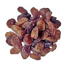 Indus Organic Jumbo Turkish Sultana Raisins , 907 gm, Sulfite Free, No Added Sugar, Freshly Packed, Premium Grade