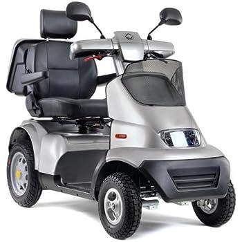 Amazon.com: Afikim Afiscooter S 4-Wheel Scooter (Single Seat w/ 2 ...
