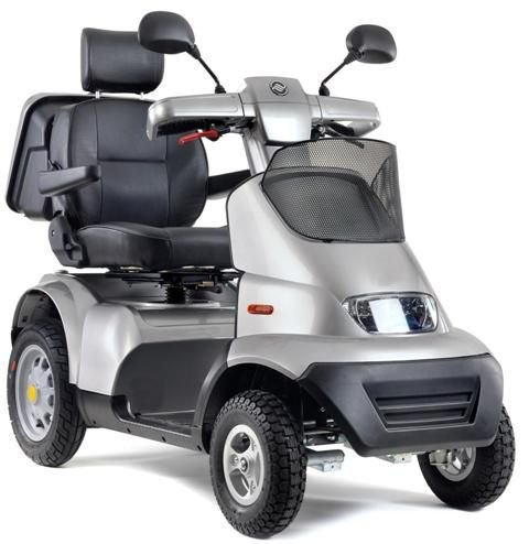 Afikim Afiscooter S 4-Wheel Scooter (Single Seat w/ 2 Batteries)