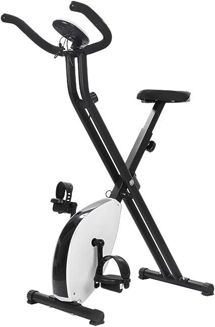 YIFAA Bicicleta Estática para El Hogar, Bicicleta de Ejercicios ...