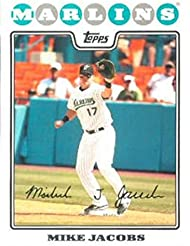 2008 Topps #483 Mike Jacobs NMMT Marlins