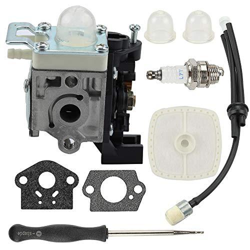 Mckin RB-K93 Carburetor SRM225 Parts Tune Up Kit fits Echo GT225 GT225i PAS225 SRM225i SRM225SB PE225 PPF225 Trimmer Weed Eater with Carb Adjustment Tool