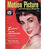 MOTION PICTURE magazine April 1952 Elizabeth Taylor cover. Inside articles and photos include Elizabeth Taylor, Esther Williams. Full page ad SINGIN IN THE RAIN with Gene Kelly and Debbie Reynolds, and full page ad for STREET CAR NAMED DESIRE with Marlon Brando. All magazines shipped in a protective-archival sleeve.