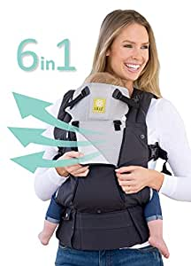 SIX-Position, 360° Ergonomic Baby & Child Carrier by LILLEbaby – The COMPLETE All Seasons (Charcoal/Silver)