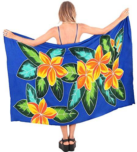 LA LEELA Women's Sarong Wrap Swimwear Cover Up Beach Yoga Mats 78