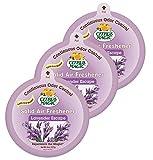 Citrus Magic Solid Air Freshener Lavender Escape, Pack of 3, 8-Ounces Each