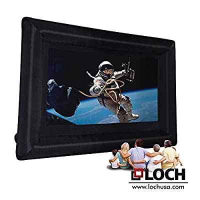 "LOCH 200"" diagonal 16:9 Inflatable Projection Screen - Outdoor Movies Cinema"