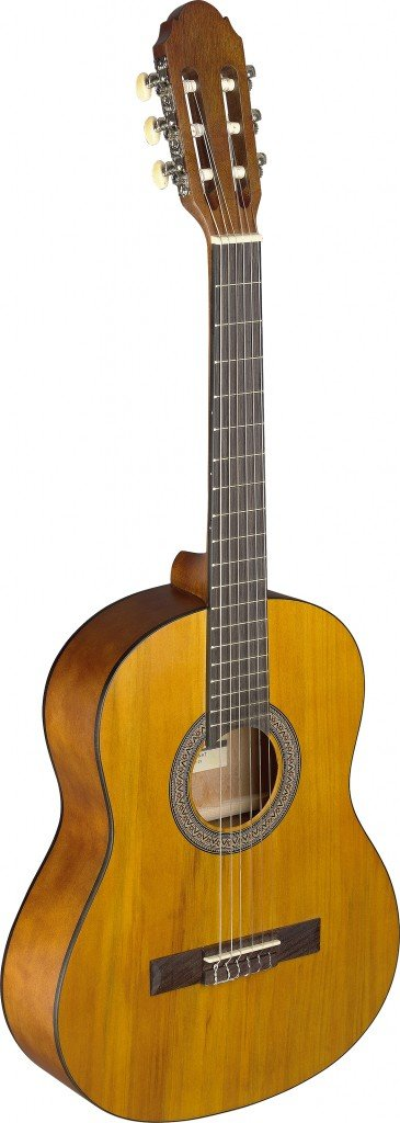 Stagg C430 M BLK C430 - Guitarra clásica (Tamaño 3/4, Negro ...