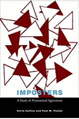 Imposters: A Study of Pronominal Agreement (The MIT Press) Hardcover