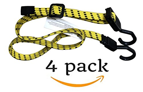 Flat Bungee Cords 4 Pack | 48