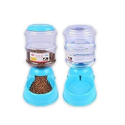 Bangxiu Dispensador de Agua para Mascotas Perro de Mascota portátil Gato Viaje Acampar Senderismo Botella de