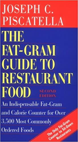 Book The Fat-Gram Guide to Restaurant Food by Joseph C. Piscatella (1998-04-01)