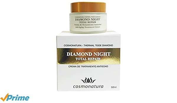 Thermal Teide Diamond Night Total Repair Crema de Tratamiento Anti Edad - 50 ml: Amazon.es: Belleza