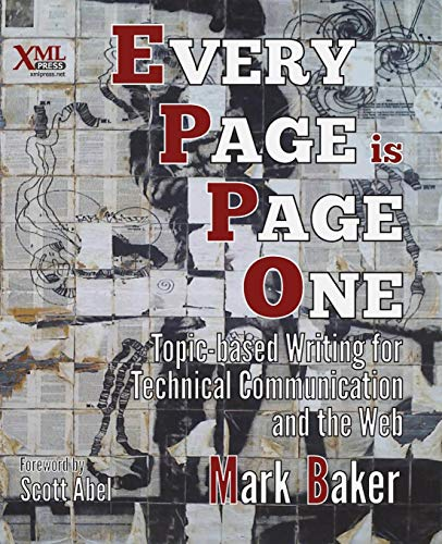 Book cover from Every Page Is Page One: Topic-Based Writing for Technical Communication and the Web by Mark Baker
