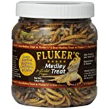 Fluker's 72021 Bearded Dragon Medley Treat Food, 1.8 oz