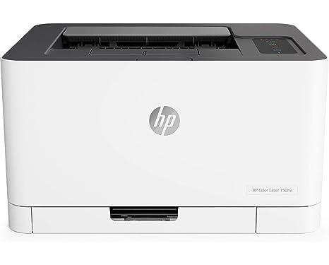 HP Color Laser 150nw - Impresora láser (18 ppm/4 ppm, Bandeja de ...