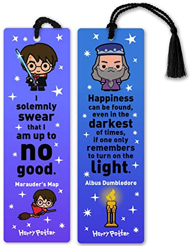 - Re-Marks Harry Potter Literary Collection Harry and Albus Dumbledore Quotemark 2-Pack