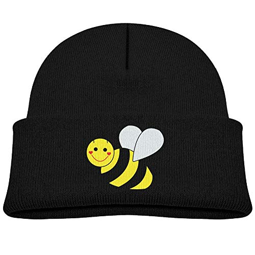 Knit Hat Cute Bumble Bee Toddler Beanie Caps Unisex Baby Warm (Toddler Bee Cap Bumble)